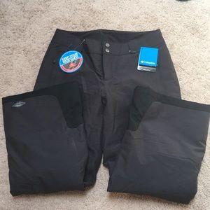 NWT -Columbia Bugaboo Omni-Heat Snow Pants